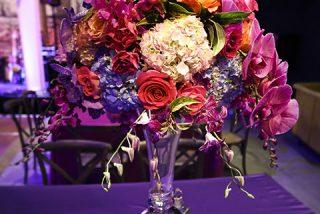 custom floral display