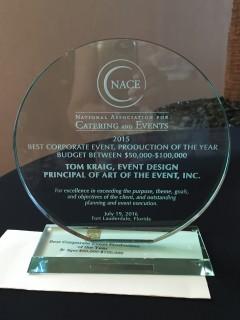 NACE award