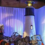 Nautical Lighthouse Vignette