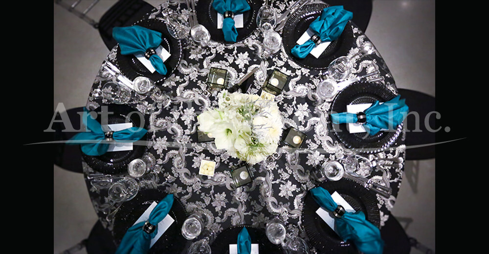 Fancy table decor