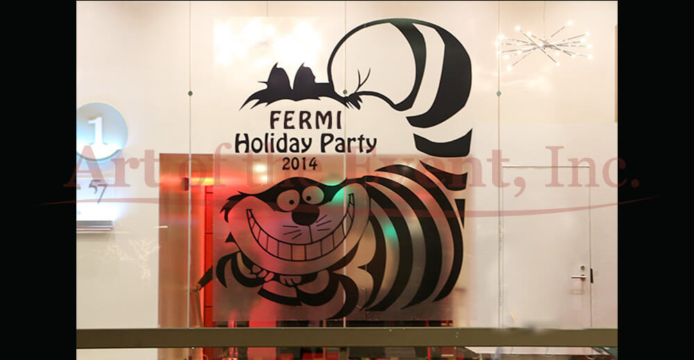 Holiday party branding