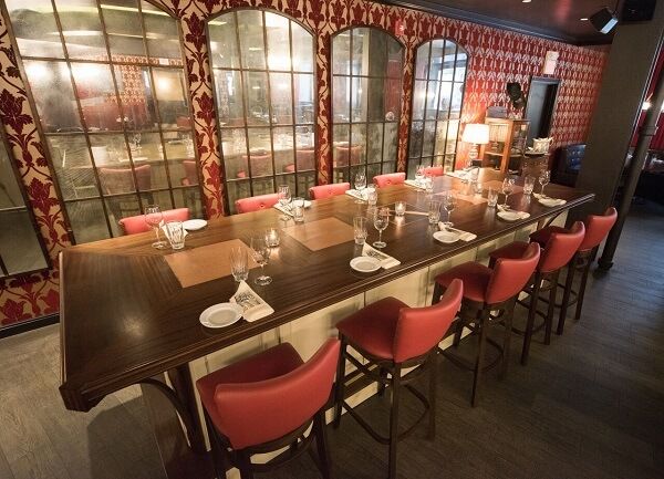 Carrie Nation chef's table (18seated)