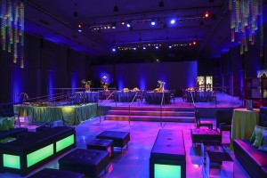 neon theme party room
