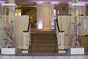 stair way at a country club
