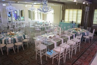 bat mitzvah party room