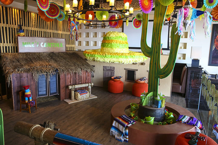 Fiesta Themed Event Decor