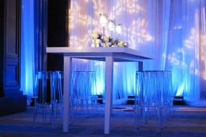 Winter Wonderland theme table & chairs