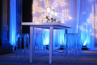 Winter Wonderland theme table & chairs