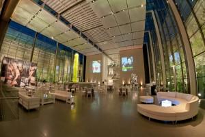non profit artist event at MFA