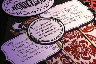 fun accessory at Alice in Wonderland event
