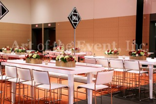 Custom Branded Share Tables