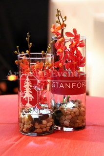 Branded Floral Centerpieces