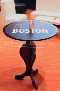 Branded Cocktail Table
