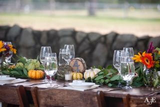 Wedding Harvest Tablescape