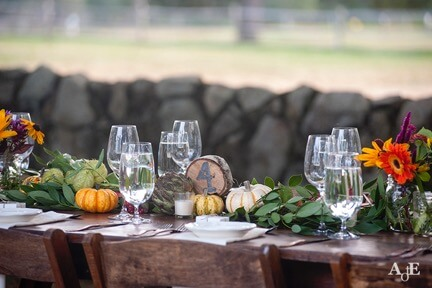 Wedding Harvest Tablescape