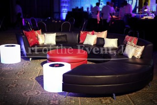 Black Leather Lounge
