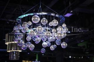 Disco Ball Chandelier