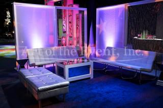 White Lounge Areas