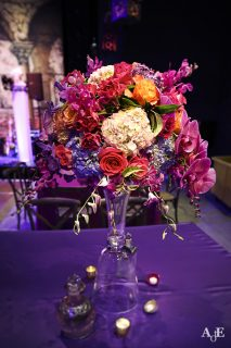 custom floral display