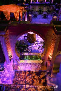 Moroccan entranceway architecture