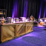 chateau wooden bar