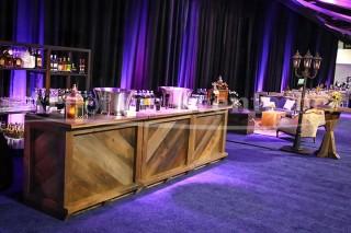 chateau wooden bar