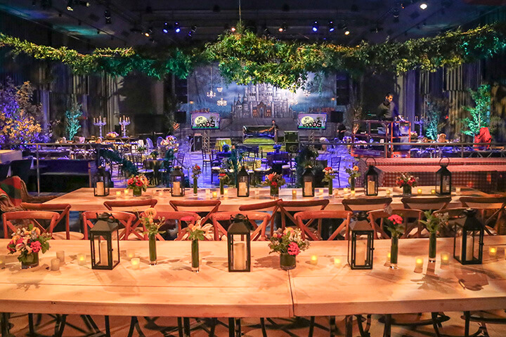 Into The Woods Theme Event