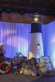 Nautical Lighthouse Vignette