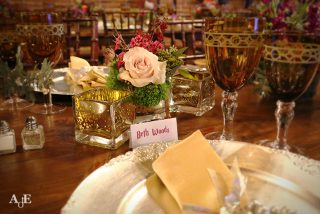 Harry Potter themed table decor