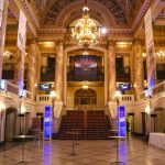 Wang theatre foyer