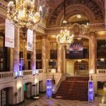 Wang theater foyer