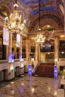 Wang theater foyer