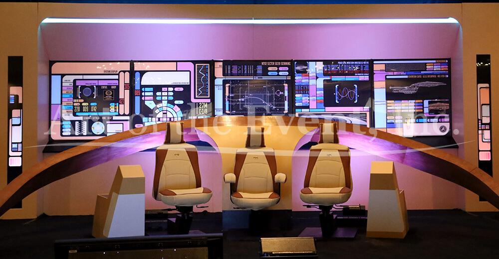 Star Trek set