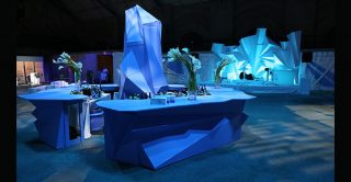 ice-themed party