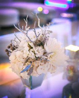 Winter flower display
