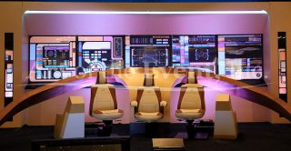 Star Trek stage