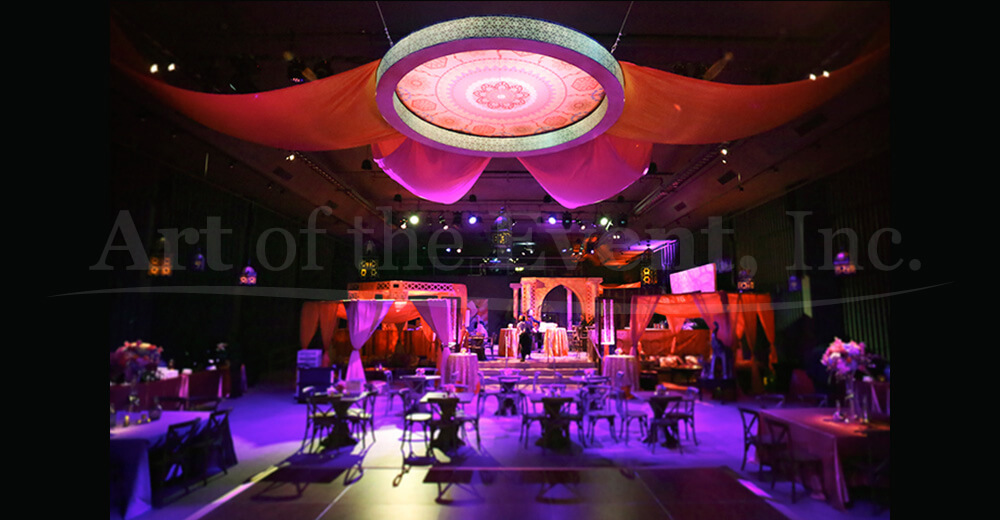 large event with tables
