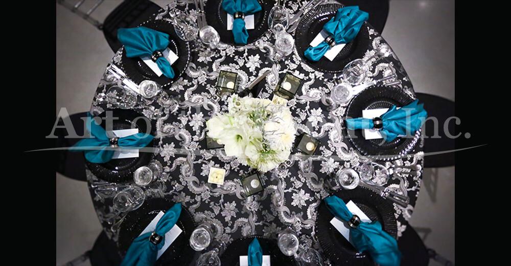 Fancy table decor