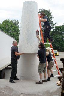 Creating large lighthouse display