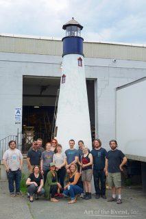 Large lighthouse display