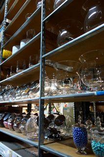 Small glass decorative items