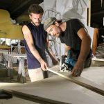 Wood fabrication shop