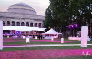 Outdoor event at MIT