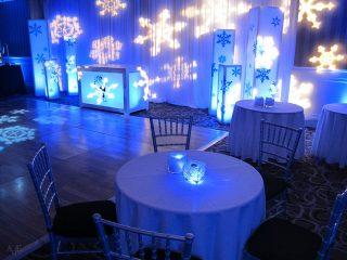 Winter wonderland holiday decor