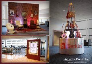 Berklee corporate event decor