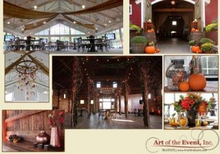 Rustic event decor ideas