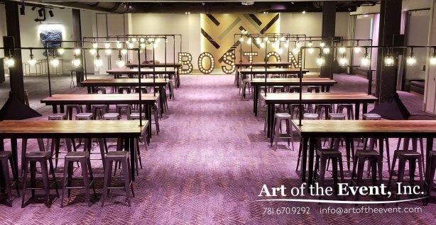 Beautiful Boston Event Room