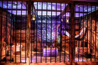 Ship jail themed custom event decor