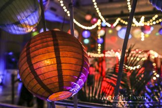 lanterns and strings for events