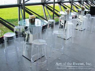 glass mirror furniture